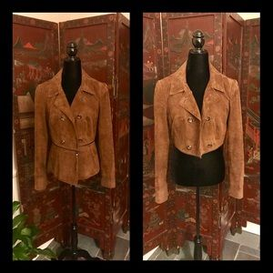 Carlisle Suede Jacket TWO DIFFERENT LOOKS